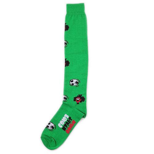 St.Friday Socks x SMF - High Knees - Dribling