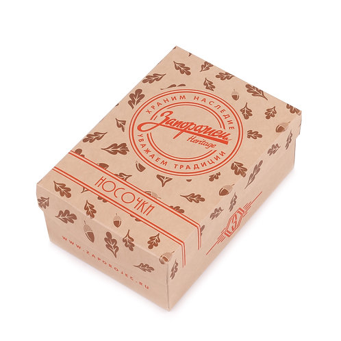 """Запорожец набор из 3-пар женских носочков в коробочке """"Летний"""""""