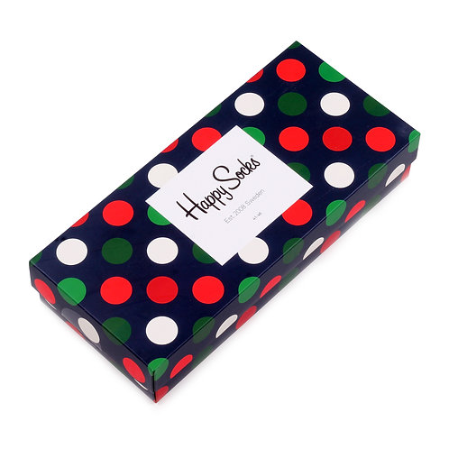 Happy Socks 4 Pair Gift Box - Big Dot