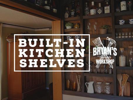 Built-in Kitchen Shelves