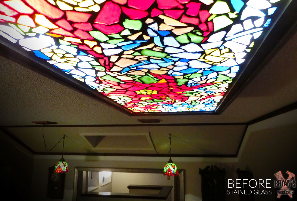 Awesome stained glass light!
