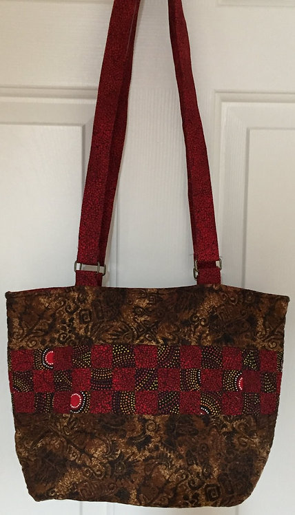 9-patch quilted tote