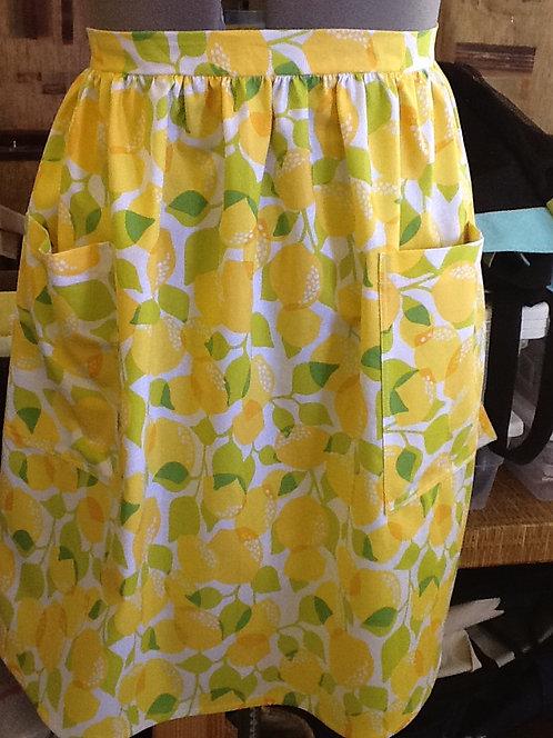 Lemons - half apron