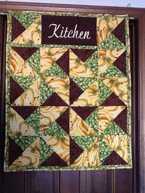 """Kitchen""  wall hanging"