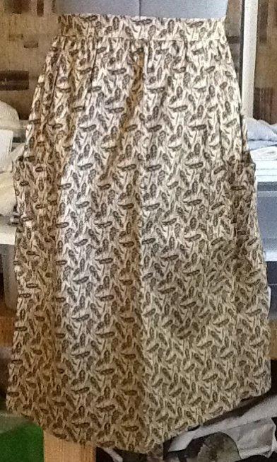 Wheat - half apron
