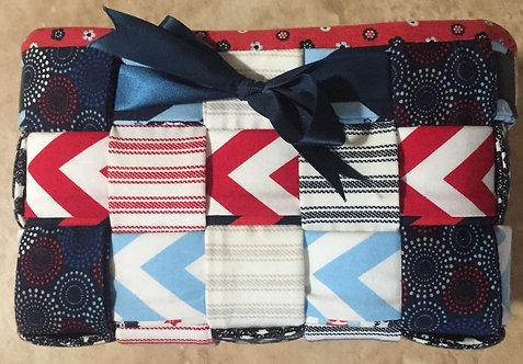 Patriotic fabric basket