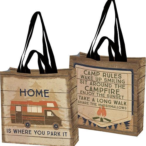 Camping Market Tote