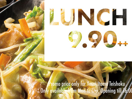 Lunch @ $9.90++