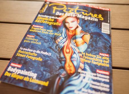 """Beitrag über mein Buch """"Das Gefühl ist der Auslöser"""" im Magazin PICTURES"""