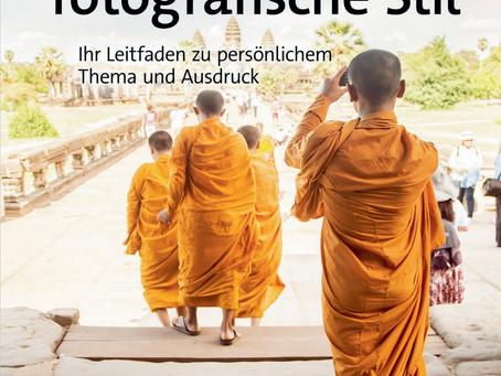 Cover bestätigt: Der eigene fotografische Stil, dpunkt Verlag, Sommer 2021