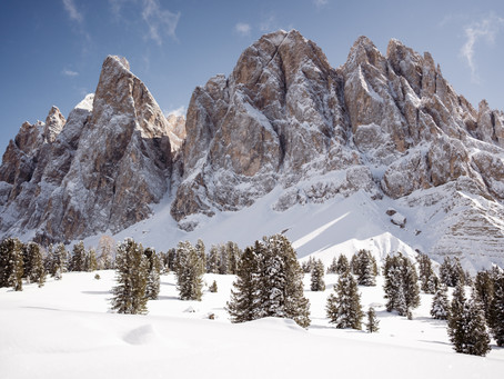 Dolomiten, Winter 2020