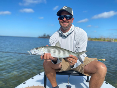 GUIDES DAY OFF BONEFISHING