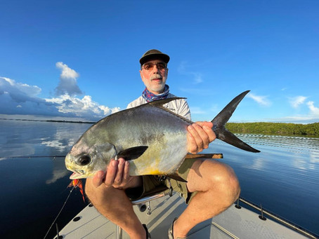 FISHING IN BISCAYNE BAY HEATS UP
