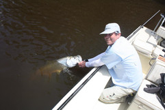 First Tarpon all the way from Denmark