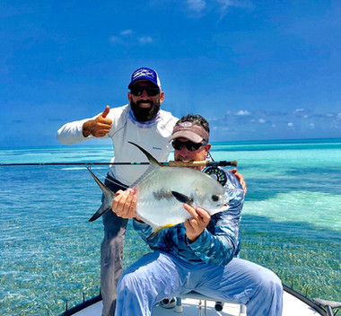Biscayne Permit on fly