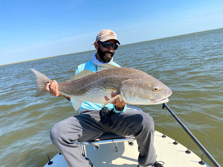 LOUISIANA MARSH FISHING REPORT