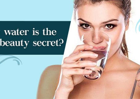 Benefits of Drinking Water to Skin and Hair