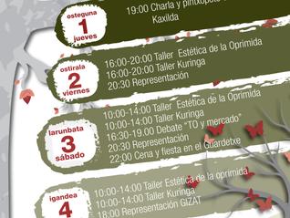 La Hoja Blanca en Donostia con un taller de Estética de las Oprimidas