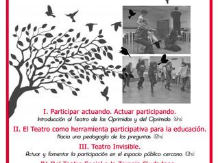 """Ciclo de formaciones """"PARTICIPAR ACTUANDO"""" en el Mercao Social de Granada"""