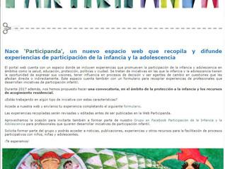 La Hoja Blanca figura en PARTICIPANDA, un nuevo espacio que recopila experiencias de participación i