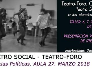 Teatro-Foro en Ciencias Políticas (UGR)