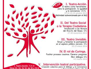 PARTICIPAR ACTUANDO. Ciclo de formación en Teatro Social y Teatro del Oprimido y de las Oprimidas (G