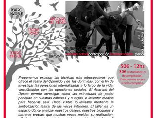Módulo IV: Del Teatro Social a la Terapia Ciudadana. Introducción a las técnicas del Arco-Iris del D