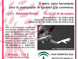 Más de 30 personas inscritas a la formación de Teatro-Acción