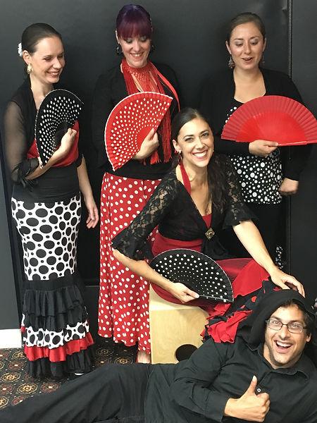 danseuses de flamenco à Québec. Flamenco Si.