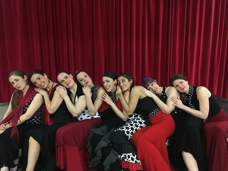 Danseuses troupe Flameco Si Julie Perreault