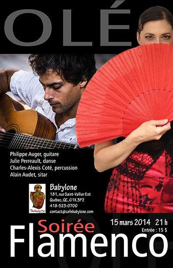 Flamenco Si Julie Perreault à Québec