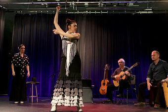Julie Perreault avec vida flamenca Alma, Québec