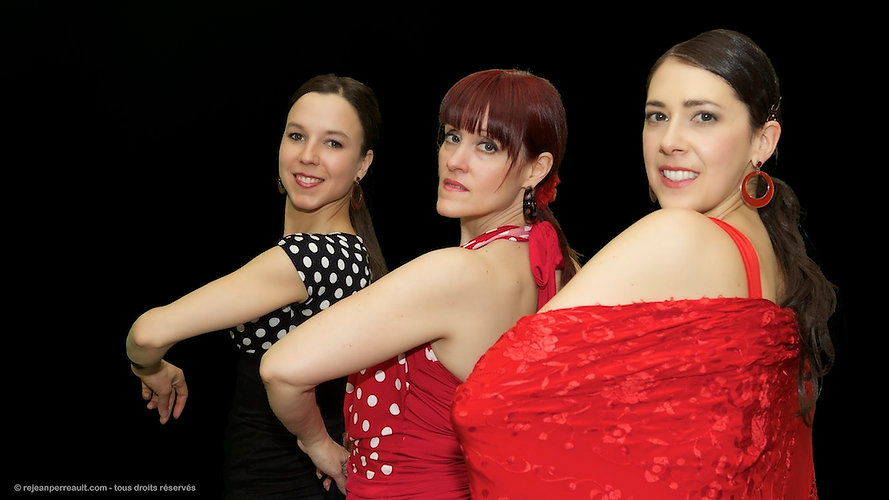 Danseuses Flamenco Si Julie Perreault Québec.