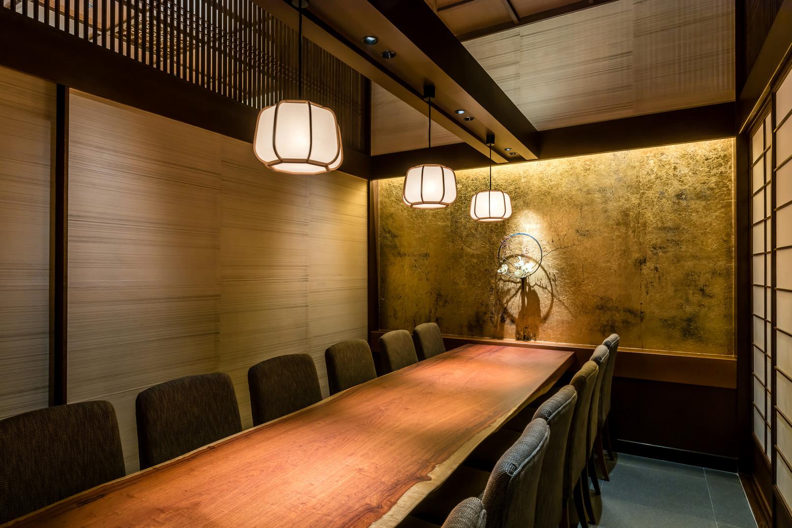 寿司割烹 個室(~10名様)