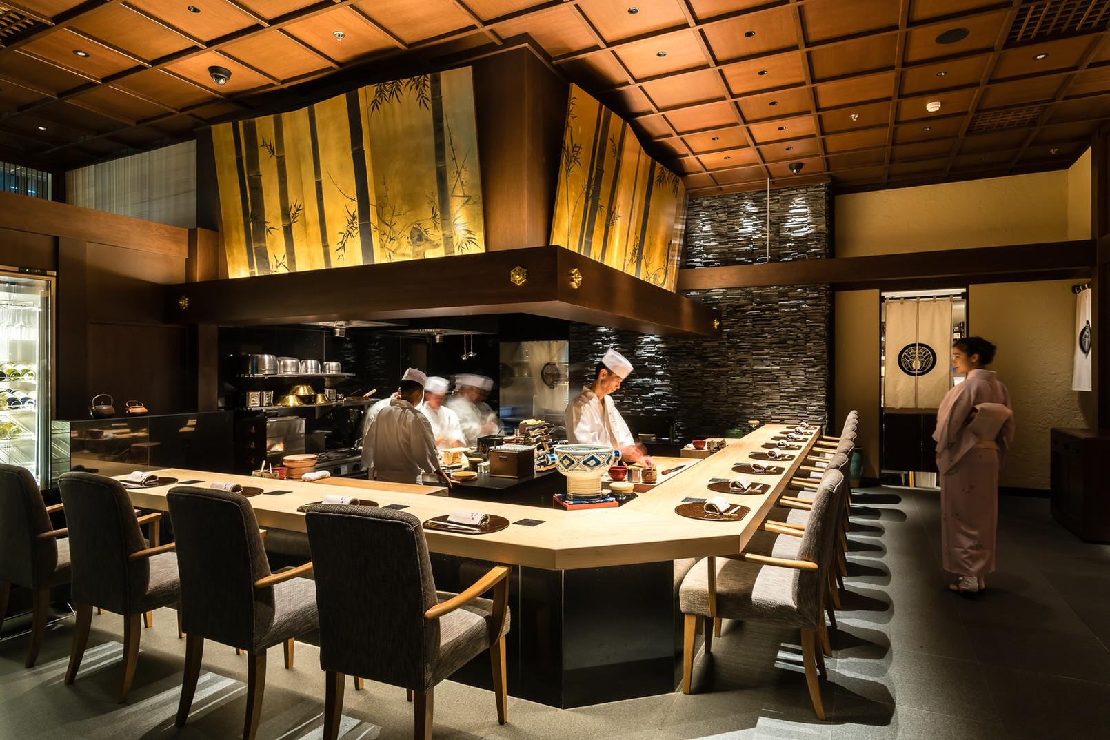寿司割烹カウンター