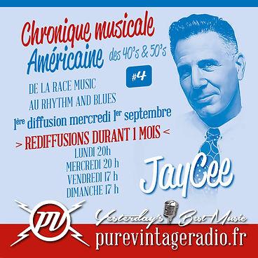 Jay Cee Pure Vintage Radio