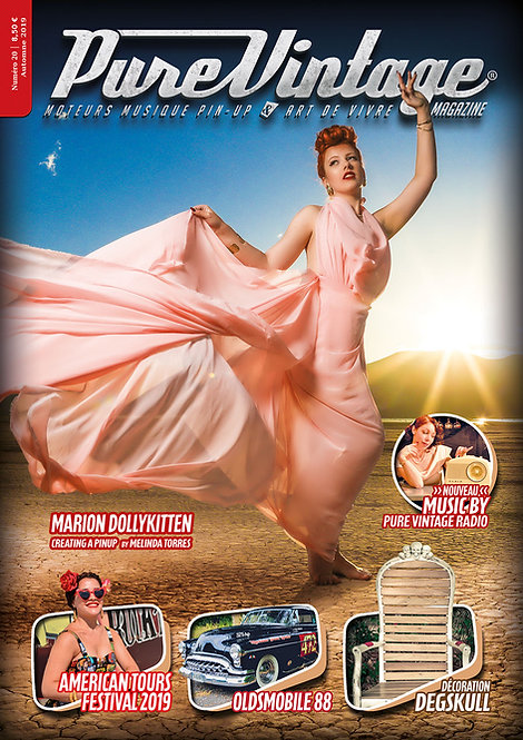 Pure Vintage Magazine #20