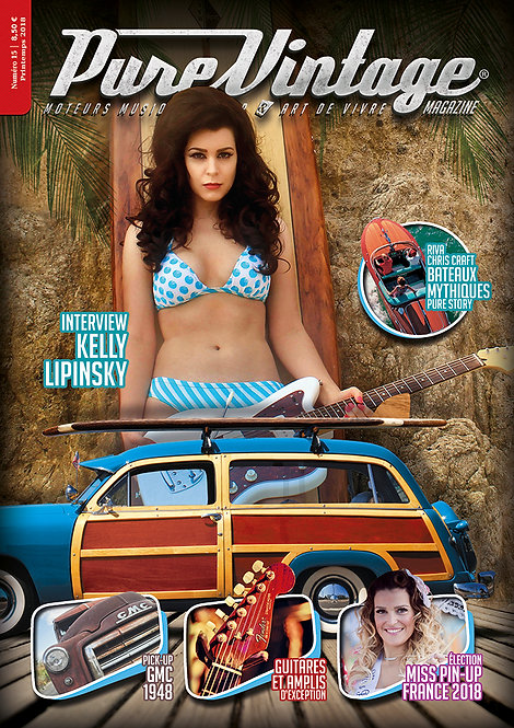 Pure Vintage Magazine #15