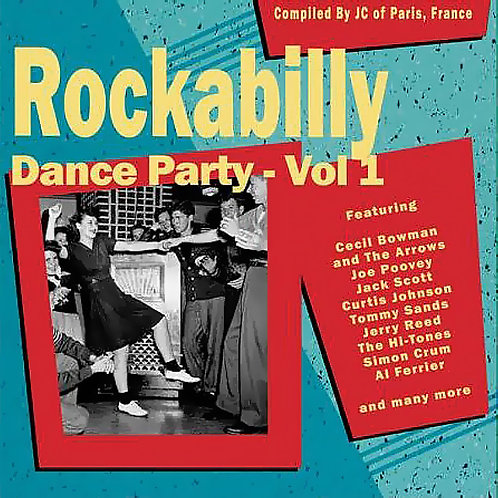 CD Rockabilly Dance Party #1