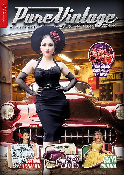 Pure Vintage Magazine #19
