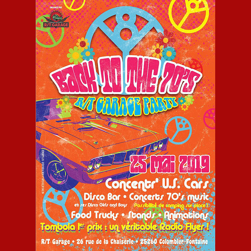Back to the 70's - R/T Garage Party