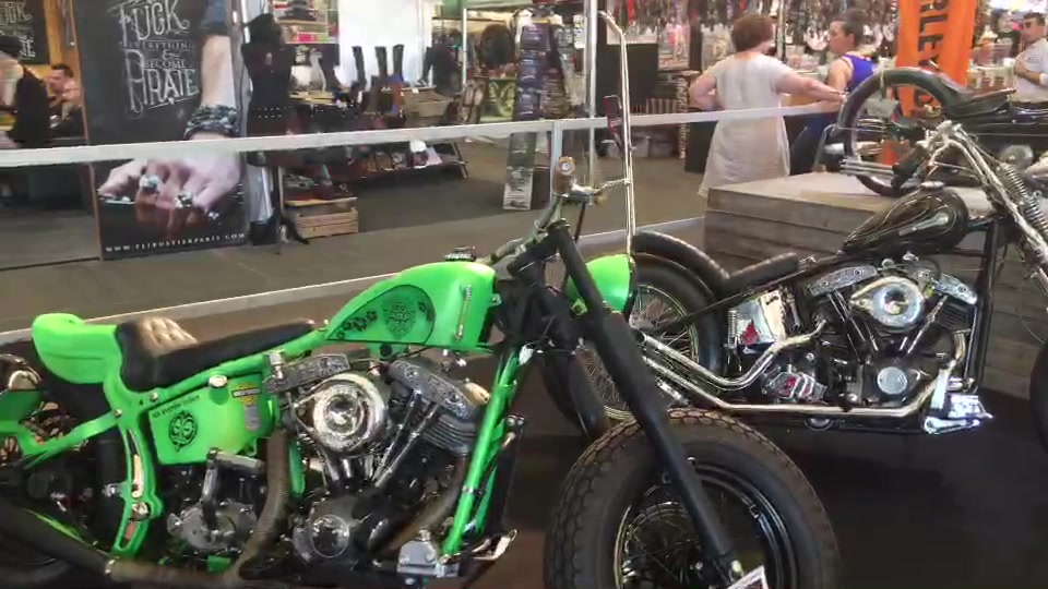 American Tours Festival 2019 - Hall biker