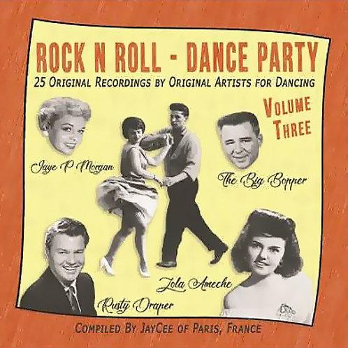 CD Rock'n'Roll Dance Party #3