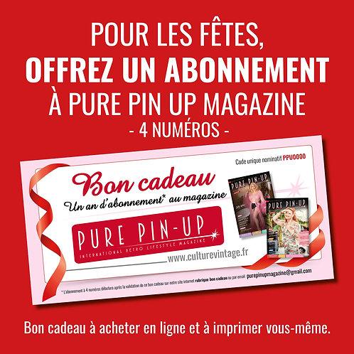 Bon cadeau Pure Pin Up Magazine