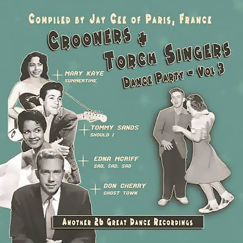 CD Crooners Dance Party #3