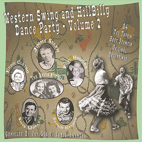 CD Western Swing and Hillbilly Dance Party #2