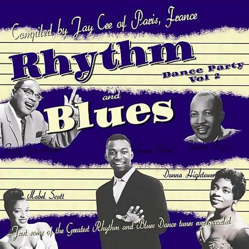 CD Rhythm and Blues Dance Party #2