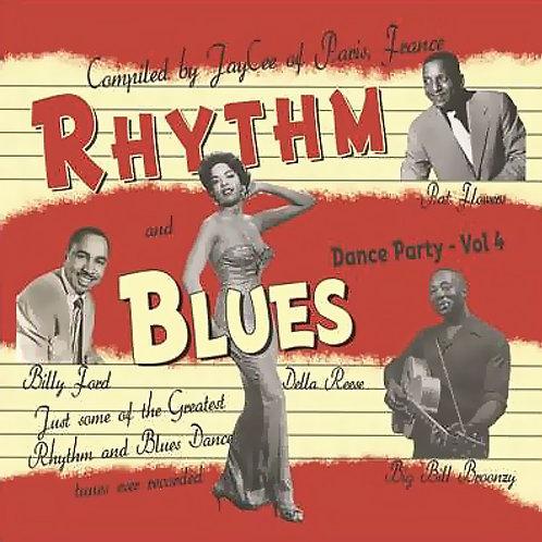 CD Rhythm and Blues Dance Party #4