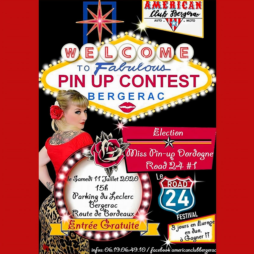 Miss Pin Up Dordogne Road 24