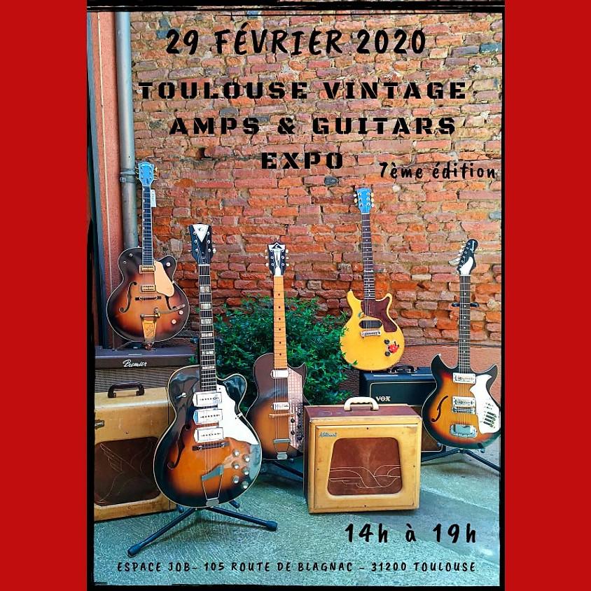 Toulouse Vintage Amp & Guitars Expo